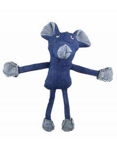 Bubimex jouet souris en jean pour chat - La Compagnie des Animaux