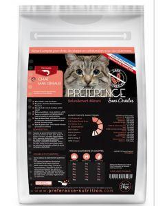Préférence Croquettes Chat sans céréales 10 kg