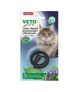 Beaphar VETOpure collier insectifuge réfléchissant Chat et chaton