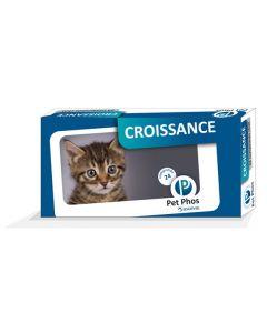 Pet Phos Croissance Chat 24 cps
