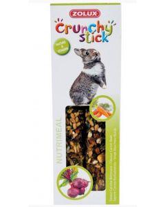 Zolux Crunchy Stick Lapin carotte / betterave - La Compagnie des Animaux