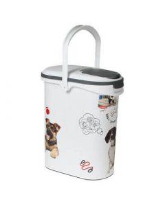 Container à croquettes 4 kg Curver modèle chien- La Compagnie des Animaux