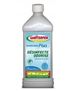 Saniterpen Désinfectant Plus Fraicheur Verte 1 L