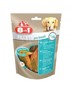 8in1 Fillets Pro Dental pour chien 80 g
