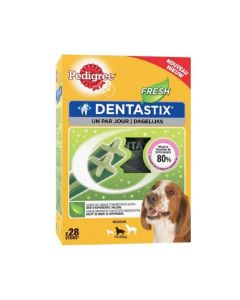 Pedigree Dentastix Fresh pour chiens moyens 28 bâtonnets