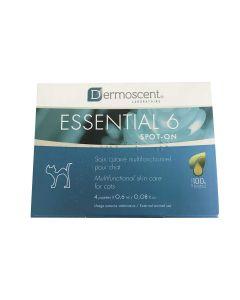 Dermoscent Essential 6 Chat 4 pipettes- La Compagnie des Animaux