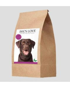 DOG'S LOVE Croquettes agneau 12 kg- La Compagnie des Animaux