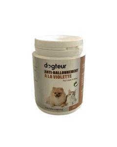 Dogteur Anti-Ballonnement à la violette chien et chat 100 grs- La Compagnie des Animaux