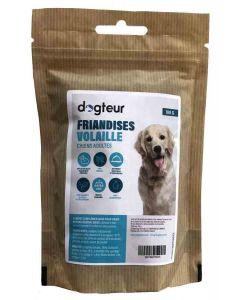 Dogteur Friandises sans céréales à la volaille pour chien 100 g- La Compagnie des Animaux