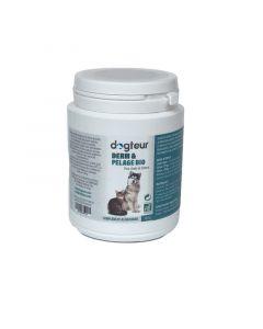 Dogteur Derm & Pelage Bio pour chien et chat 100 g