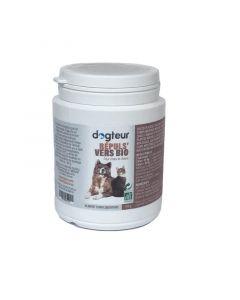 Dogteur Répuls' vers Bio pour chien et chat 100 g