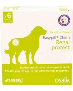 Easypill Renal protect Chien 6 barres de 28 grs- La Compagnie des Animaux