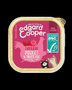 Edgard & Cooper Fabuleux Poulet & Truite ASC pour chaton - La Compagnie des Animaux