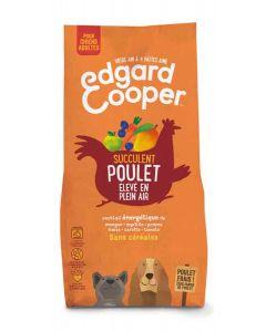 Edgard & Cooper Croquettes au Poulet frais Chien Adulte 12 kg- La Compagnie des Animaux