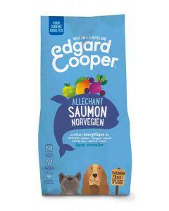 Edgard & Cooper Croquettes au Saumon Norvégien Frais Chien Adulte 12 kg- La Compagnie des Animaux