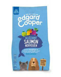 Edgard & Cooper Croquettes au Saumon Norvégien Frais Chien Adulte 2,5 kg- La Compagnie des Animaux