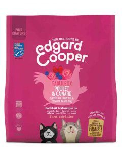 Edgard & Cooper Fabuleux Poulet & Canard croquettes sans céréales pour chaton 1,75 kg- La Compagnie des Animaux