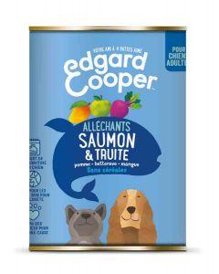Edgard & Cooper Boite Saumon & Truite Epinards & Pommes Chien adulte 6 x 400 g