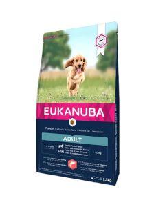 Eukanuba Chien Adulte Petite et Moyenne Race Saumon & Orge 2.5 kg