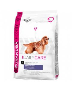 Eukanuba Chien Daily Care Sensitive Skin 2.3 kg - La Compagnie des Animaux
