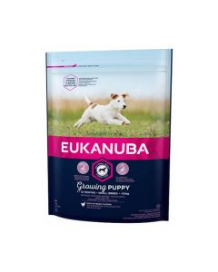 Eukanuba Growing Puppy Petite Race au poulet 1 kg - La Compagnie des Animaux