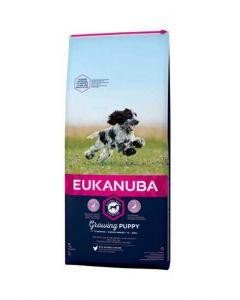 Eukanuba Puppy Junior Moyenne Race 3 kg - La Compagnie des Animaux