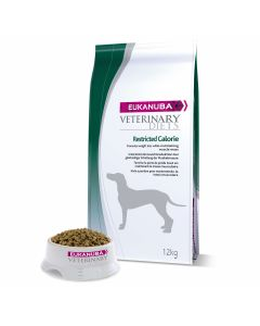 Eukanuba Veterinary Diets Restricted Calorie chien 12 kg - La Compagnie des Animaux