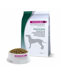 Eukanuba Veterinary Diets Restricted Calorie chien 1 kg - La Compagnie des Animaux