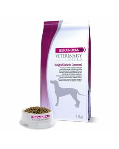 Eukanuba Veterinary Diets Weight/Diabetic Control chien 12 kg - La Compagnie des Animaux