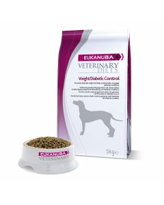 Eukanuba Veterinary Diets Weight/Diabetic Control chien 5 kg - La Compagnie des Animaux