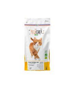 Felichef croquettes BIO sans céréales, sans gluten chat stérilisé 2kg - La Compagnie des Animaux