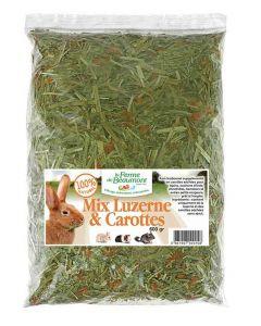 Ferme de Beaumont Mix Luzerne & carottes 600 grs