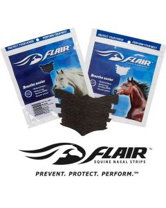 Flair Nasal Strip respiration nasale cheval blanc - La Compagnie des Animaux