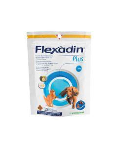 Flexadin Plus chat et petit chien (1 à 10 kg) 30 bouchées- La Compagnie des Animaux