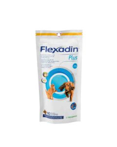 Flexadin Plus chat et petit chien (1 à 10 kg) 90 bouchées- La Compagnie des Animaux
