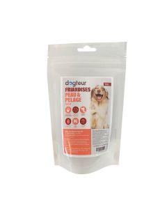Dogteur Friandises Peau et Pelage chien 70 g