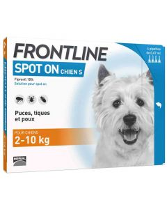 Frontline Spot on chien de 2-10 kg 1 pipette