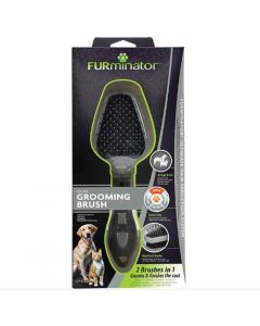 Furminator brosse double pour chat et chien