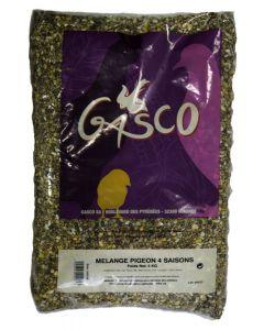 Gasco Mélange pigeon 4 saisons 5 kg- La Compagnie des Animaux
