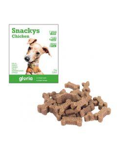 Gloria Snakys friandises au poulet sans gluten pour chien 75 g - La Compagnie des Animaux