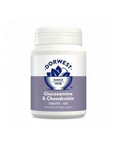 Dorwest glucosamine et chondroïtine 100 cps