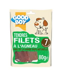 Good Boy Filets à l'Agneau 80 grs - La Compagnie des Animaux
