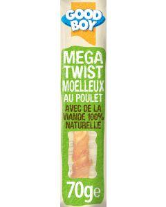 Good Boy Mega Twists au Poulet 70 grs - La Compagnie des Animaux