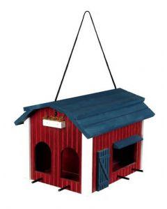 Trixie Mangeoire Grange 24 × 22 × 32 cm bois rouge