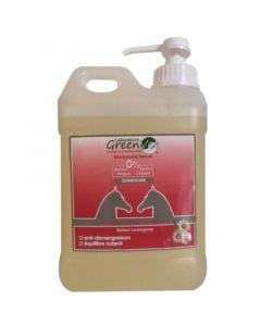 Greenvet Shampooing Dermocare pour cheval 2 L