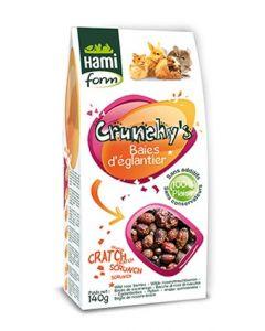 Hami Form Friandises Crunchy's Baies d'Eglantier Rongeurs 140 grs