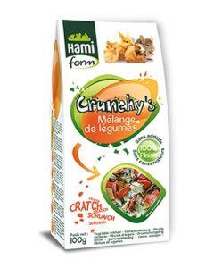 Hami Form Friandises Crunchy's Melange de Legumes Rongeurs 100 grs
