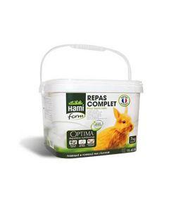 Hami Form Repas Complet Optima Lapin Nain 7 kg - La compagnie des animaux