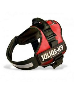 Harnais Power Julius-K9 Rouge T0 58 à 76 cm