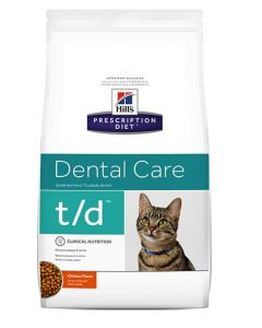 Hill's Prescription Diet Feline T/D 5 kg- La Compagnie des Animaux